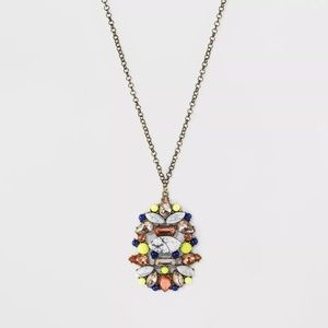 SUGARFIX by BaubleBar Crystal and Stone Pendant